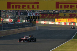 Fernando Alonso, Scuderia Ferrari Sebastian Vettel, Red Bull Racing