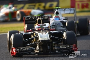Lotus Renault is currently fifth in the Constructors' Championship