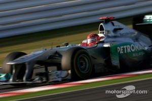 Good weekend for Schumacher, bad weekend for Rosberg