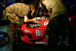 Ross Petty's Garage Boso's crew working hard on the Nissan S14
