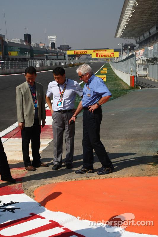 Charlie Whiting, FIA Safty delegate, Race director & offical starter