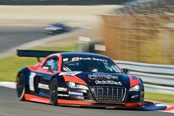 #16 Sainteloc Racing Audi R8 LMS: Pierre Hirschi/Gregory Guilvert
