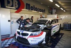 GT3 paddock walkabout - Faster Racing by DB Motorsport garage