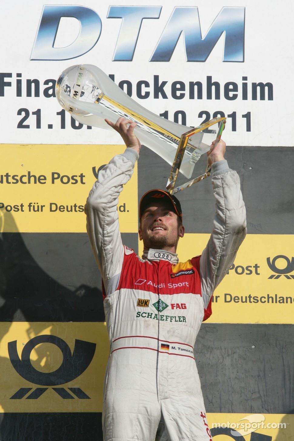 Champion 2011 Martin Tomczyk, Audi Sport Team Phoenix, Audi A4 DTM