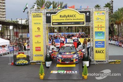 Rallye de Catalogne, Espagne