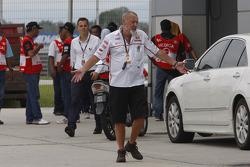 Team Gresini react to the news of Marco Simoncelli's passing