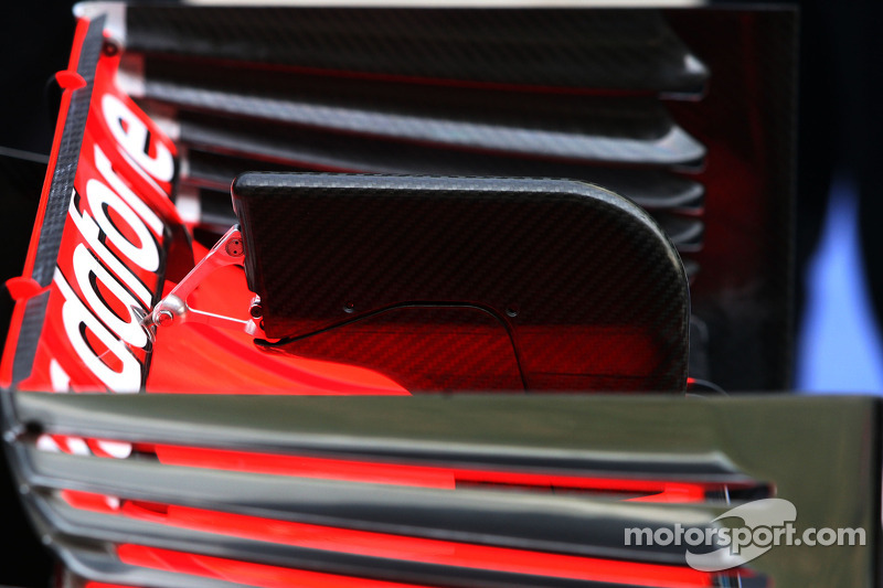 McLaren Mercedes Technical detail rear wing