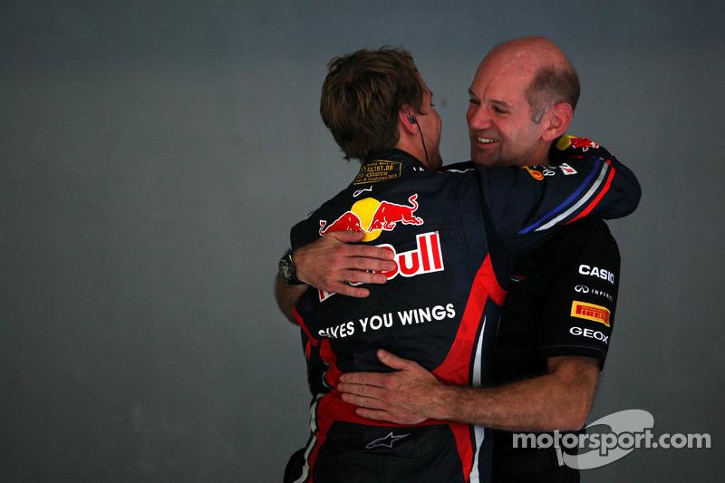 Sebastian Vettel, Red Bull Racing, Adrian Newey, Red Bull Racing, Technical Operations Director
