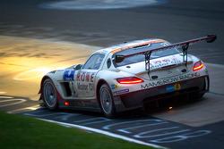 #30 Mamerow / Rowe Racing Mercedes-Benz SLS AMG GT3: Chris Mamerow, Armin Hahne, Pierre Kaffer