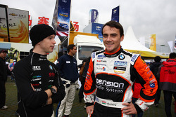 Javier Villa, BMW 320 TC, Proteam Racing and Norbert Michelisz, BMW 320 TC, Zengo-Dension Team