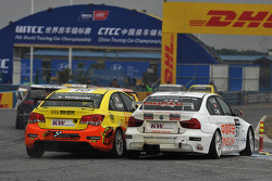 Yukinori Taniguchi, Chevrolet Lacetti, Bamboo-Engineering and Charles Ng, BMW 320si, Liqui Moly Team Engstler