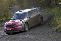 MINI WRC Team testing