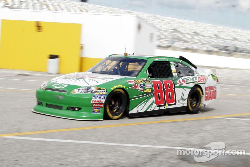 EFI-Testfahrten in Daytona