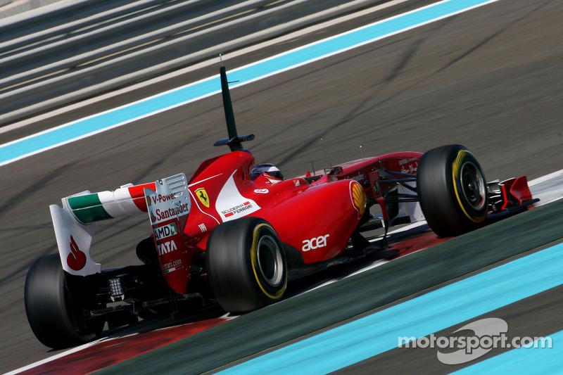 2011 год: тесты с Ferrari