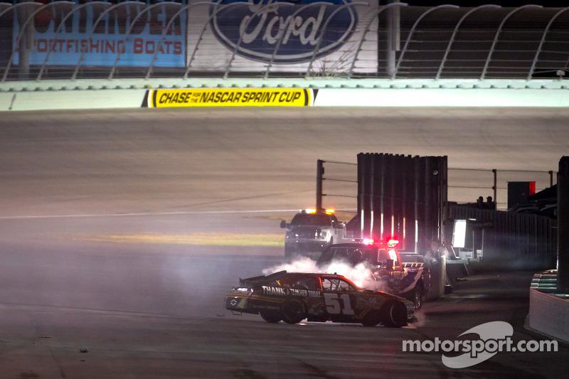 Landon Cassill, Chevrolet crashes