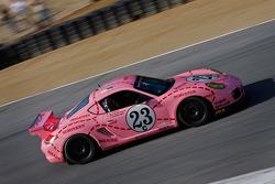 Mark Gold 2011 Pink Pig Porsche Cayman Interseries