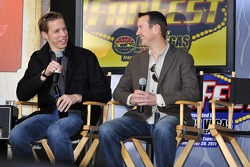 Brad Keselowski and Kurt Busch