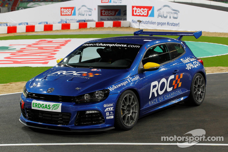Volkswagen Scirocco Cup car at Race of Champions