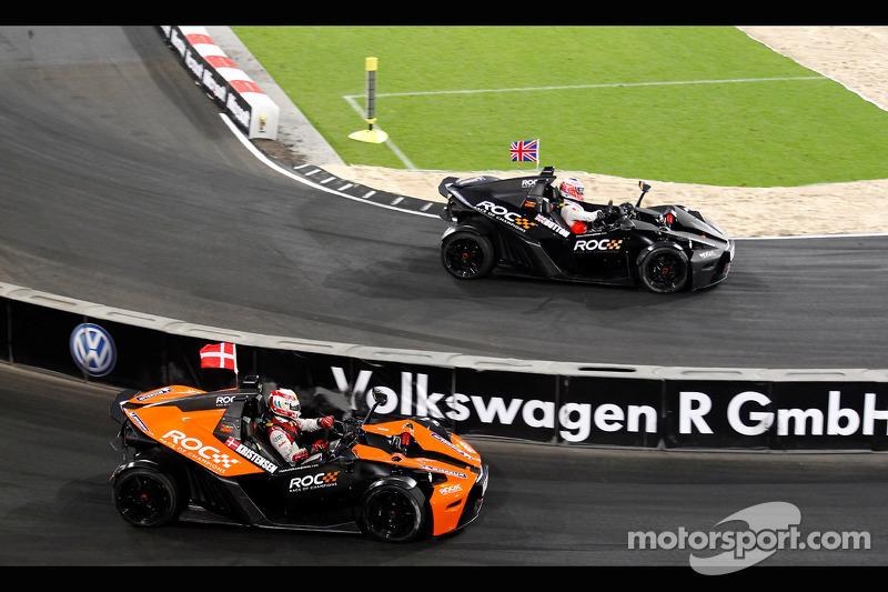 Tom Kristensen vs Jenson Button