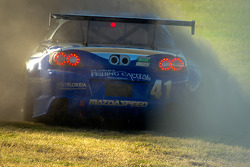 Spin for #41 Dempsey Racing Mazda RX-8: Joe Foster, Don Kitch Jr., Dan Rogers