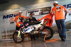 Marc Coma y Joan Pedrero descubren sus KTM
