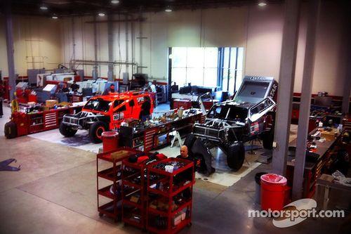 Team Qatar and Speed Energy Racing Dakar preparations