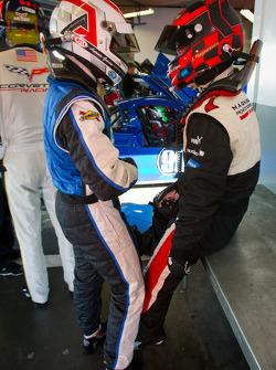 Antonio Garcia and Jan Magnussen