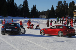 Presentation of the new Ferrari FF