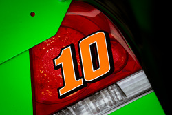 Car detail, Danica Patrick, Stewart-Haas Racing Chevrolet
