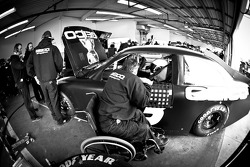 Casey Mears, Germain Racing Ford with crew chief Booty Barker