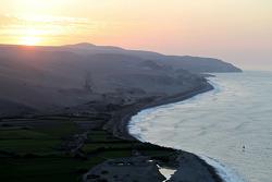 Sunrise over Peru