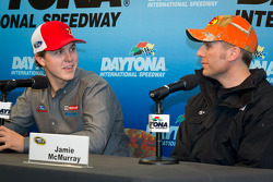 Press conference: Trevor Bayne, Wood Brothers Racing Ford and Jamie McMurray, Earnhardt Ganassi Racing Chevrolet
