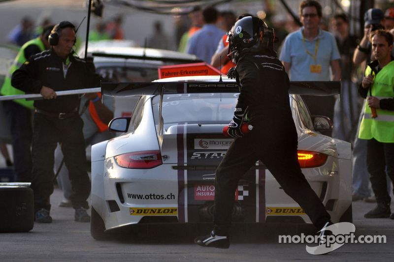 #20 Stadler Motorsport Porsche 997 GT3 R: Mark Ineichen, Rolf Ineichen, Adrian Amstutz, Marcel Matter