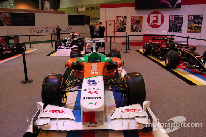 Force India F1 car