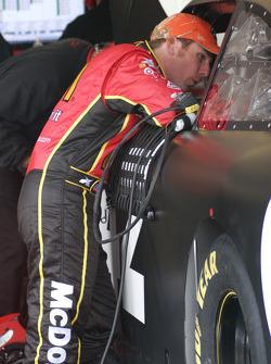 Jamie McMurray, Earnhardt Ganassi Racing Chevrolet et Juan Pablo Montoya, Earnhardt Ganassi Racing C