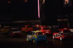 Suzuki Swift rallycross demo race