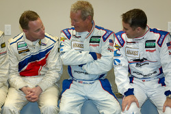 Rolex 24 At Daytona Champions photoshoot: David Donohue, Hurley Haywood and Andrew Davis