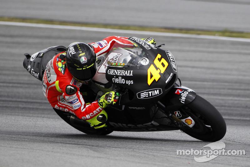 Tes Sepang 2012 - Ducati Marlboro Team