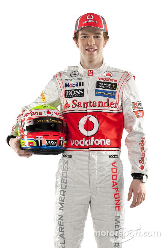 Oliver Turvey, McLaren-Mercedes
