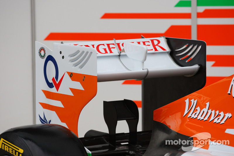 The New VJM05 rear wing
