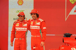 Fernando Alonso and Felipe Massa, Scuderia Ferrari