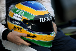 Helmet of Bruno Senna