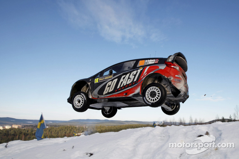Henning Solberg en Ilka Minor, Ford Fiesta RS WRC