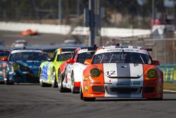 #12 Alliance Autosport Porsche GT3: Jon Miller, Hal Prewitt, Scott Rettich, Matt Schneider, Darryl S