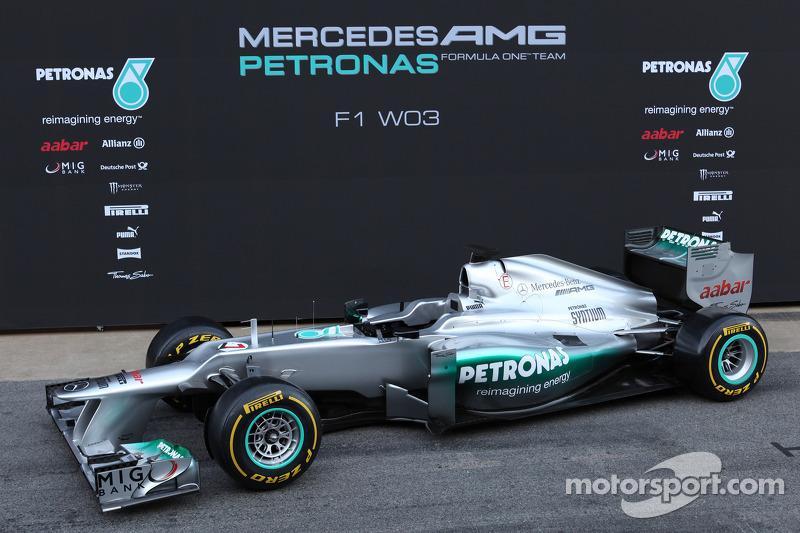 2012: Mercedes W03