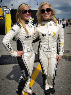 The charming Sprint girls