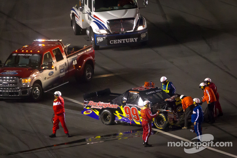 Safety team bij Bryan Silas, T.3.R Motorsports Ford