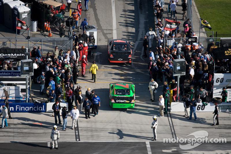 Danica Patrick, JR Motorsports Chevrolet