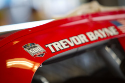 Car detail of Trevor Bayne, Wood Brothers Racing Ford