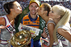 Podium: race winner Will Davison